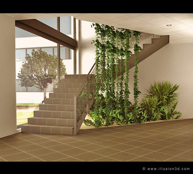 architecture int rieur architecture illusion 3d. Black Bedroom Furniture Sets. Home Design Ideas